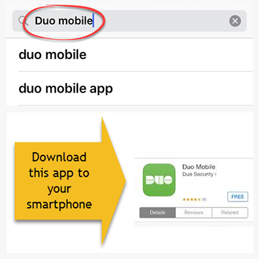 Duo Mobile download this app