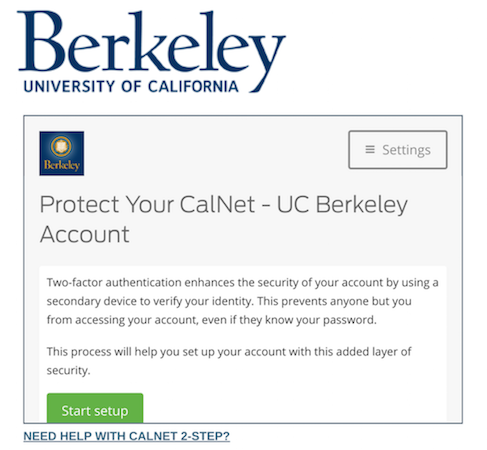 Enroll a Smartphone | CalNet - Identity and Access Management