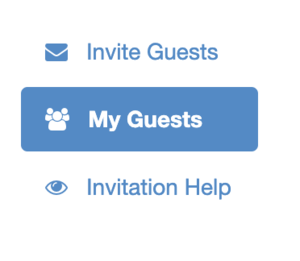 Navigate to My Guests